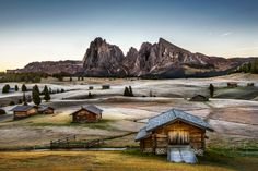 Alpe di Siusi - Early October Morning by Michael Bennati on 500px