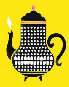Illustration - Tea Pot