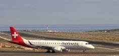 Canary Islands Spotting....Spotter: HB-JVN Helvetic Airways Embraer ERJ-190LR LPA/GCLP...