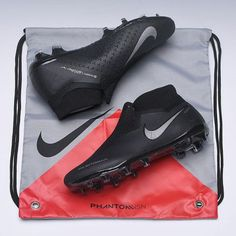 new product 2482c 77268 Nike Phantom Vision Elite DF FG Stealth Ops Black