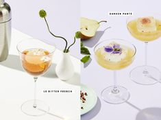 Rosé Wine Cocktails with Personality