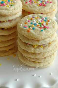 The perfect sugar cookie is tender, moist, and chewy . . . with just the right amount of vanilla and sweetness. Have you...