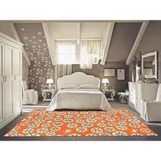 Shop for Alliyah Handmade Coral Rose New Zealand Blend Wool Rug (5' x 8'). Get free shipping at Overstock.com - Your Online Home Decor Outlet Store! Get 5% in rewards with Club O!