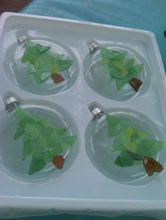 Image result for sea glass craft ideas