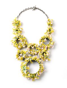 Daniel Kruger-Necklace: Untitled 2006Glass beads, silk, silverCollection of the SM's. Photo by Udo w. Beier.