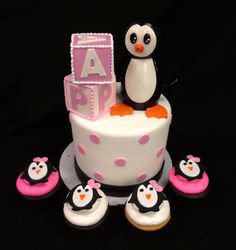 A Baby Shower Themed Around Penguins
