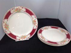 """Homer Laughlin Lady Alice 9"""" Luncheon/Dinner Plate(s) #HomerLaughlin"""