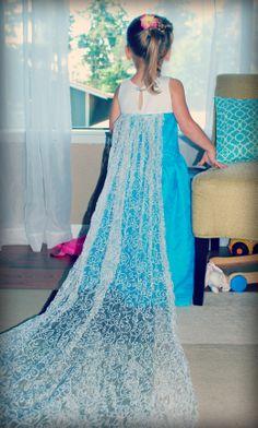 Frozen Elsa dress DIY