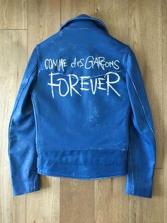 Comme Des Garcons Comme Des Garçons X Lewis Leathers Biker Jacket (Aoyama Limited) Size S $4000 - Grailed