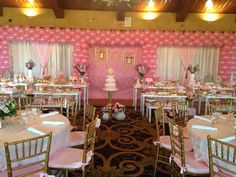 Gold & Pink Princess Birthday Party decor!