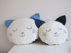 White Chick cushions Laura Jane Paris