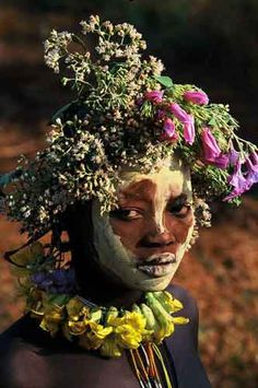 Omo Tribes Ethiopia Body Painting Gallery