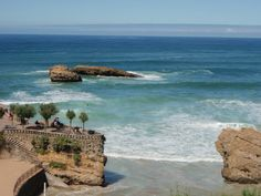 Biarritz and Saint-Jean-de-Luz, France Beautiful Hotels, Beautiful Beaches, Oh The Places You'll Go, Places To Visit, Surf Competition, Pergola, Biarritz, Basque Country, Travel Magazines