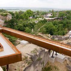 Ontwerpen aan een post-industrieel landschap Roman Quarry Redesign by AllesWirdGut Architektur