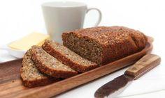 Proteinbrød/ Lavkarbobrød Banana Bread, Low Carb, Baking, Desserts, Honey, Bread Making, Patisserie, Backen, Deserts