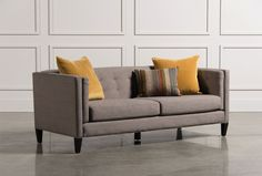 $795- available in pretty teal color. long and low Lorelai Sofa - Signature