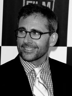 Steve Carell is turning into a silver fox. Not gunna lie.