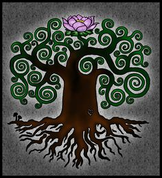 tree of life in bloom