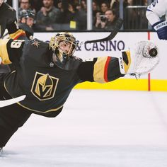Fleurys big saves in win help Golden Knights edge skidding Leafs Hockey Baby, Hockey Goalie, Field Hockey, Golden Knights Hockey, Vegas Golden Knights, Nhl Wallpaper, Hockey Logos, Hockey Memes, Street Hockey