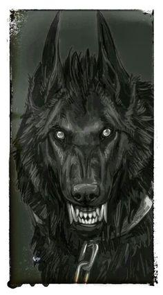 A snarling wolf Anime Wolf, Dark Fantasy Art, Dark Art, Snarling Wolf, Werewolf Art, Werewolf Tattoo, Arte Obscura, Vampires And Werewolves, Creature Design