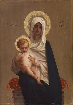 Ernest Hebert Virgin of the Deliverance