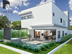Projeto residencial em Uberlândia - MG Casa P|G - Condomínio fechado Esplêndido