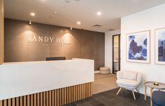 Sandy Hill Reception Interior Scheme