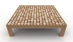 Sofia Coffee Table by mg12 made in Italy on CROWDYHOUSE