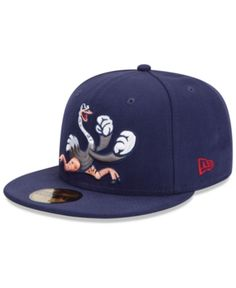 02cd2bd0e26d1 New Era Reading Phillies Ac 59FIFTY Fitted Cap - Blue 6 7 8