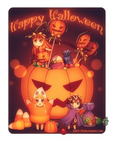 Halloween Sweets by DAV-19 on deviantART