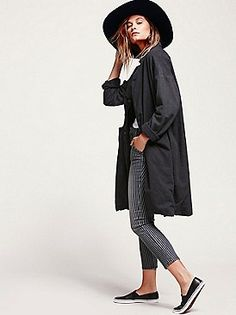 CP SHADES Cozy Flannel Slouchy Jacket at Free People Clothing Boutique
