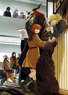Elias - Chise - Ruth - Alice | The Ancient Magus Bride