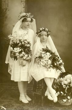 First Communion 1920s, Worcester, MA