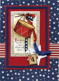 4th of July card by wendyofva, via Flickr