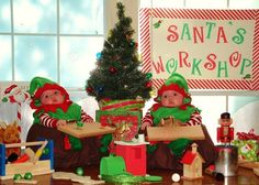 Santa's Workshop greeting card (GMA viewer submitted card)