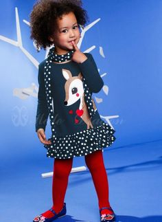 1 pieces retail hot selling fashion kids girls cake deer design dresses with scarf-in Dresses from Apparel & Accessories on Aliexpress.com | Alibaba Group