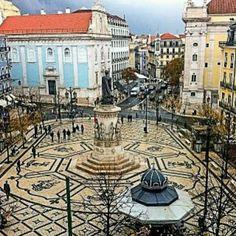 Praça de Camoes, Lisboa, Portugal