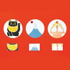 【めでたぽち袋 富士山】