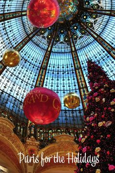 """Paris is always a good idea, but Paris during the holidays, well, that can be magical. The holiday events such as markets, ice skating, and shows will keep you busy above and beyond the """"regular"""" things to do, and the seasonal foods and drinks will make for warm bellies and large smiles. #Paris for the #holidays. Things to do in Paris in the winter. Things to do in Paris during the holidays."""