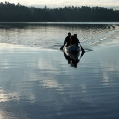canoeing in Ontario cottage country