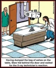 Funny Images, Funny Pictures, Funny Pics, Hilarious, Medical Jokes, Gary Larson, Practical Jokes, Medical Illustration, Can't Stop Laughing
