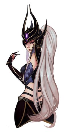 Syndra by thelittlefirefly on deviantART