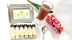 Ice Tea Gift Set. Great idea for guest to make by InNonnasKitchen