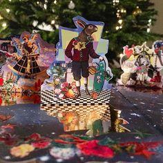 """Today you can open the 15th of December from Christian Lacroix """"Shaman Night"""" Advent Calendar and meet our crazy & smart Rabbit! 9 days before Xmas… Vous pouvez ouvrir la case numéro 15 de votre calendrier de l'Avent Christian Lacroix """"Shaman Night"""" et découvrir notre lapin chic et déjanté! J-9 avant Noël... #ChristianLacroix #Lacroix #ChristianLacroixMaison #Advent #Calendar #Xmas #ShamanNight"""