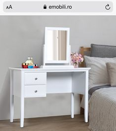 Makeup Dressing Table, Vanity, Furniture, Home Decor, Vanity Area, Homemade Home Decor, Lowboy, Dressing Tables, Home Furnishings