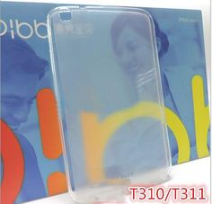 Soft TPU Silicone Protective Case for Samsung Galaxy Tab 3 8.0 P8200 SM-T310 T311 T315 funda Tablet Transparent Cover +film gift