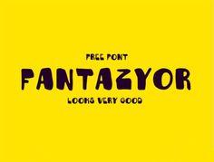 30 Fantastic Free Font for Designer, September 2014