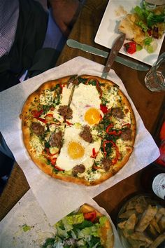 Fried Egg Pizza #Egg #Breakfast,use gluten free pizza dough