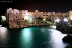 Polignano a Mare by night