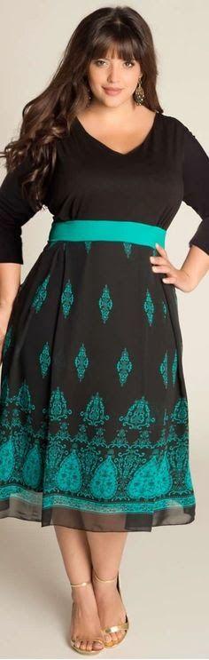 15 Best Women Plus Size Dresses on Pinterest